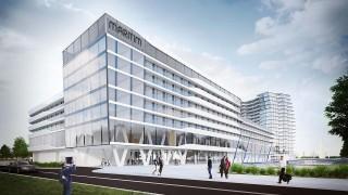 Projekt kompleksu Hot Spring Bay w Szczecinie