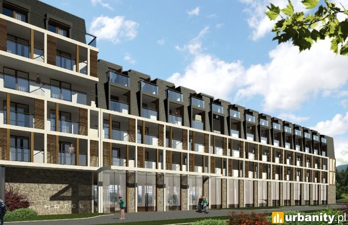 Wizualizacja pierwszego hotelu Marki H&P w Polsce, który będzie liczył ok. 270 pokoi wykonanych przez DMDmodular