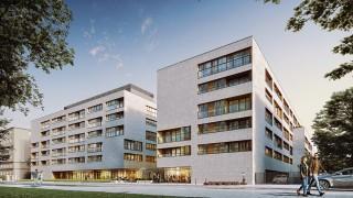 Apartamenty Niemcewicza 19 w Warszawie - wizualizacja