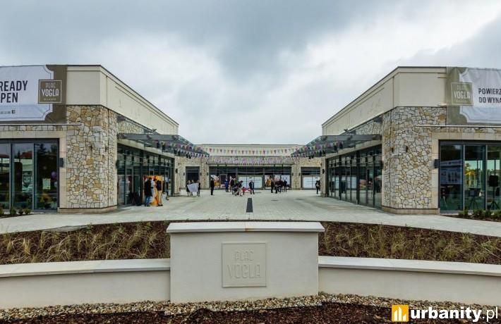 Ukończona galeria handlowa Plac Vogla w Warszawie