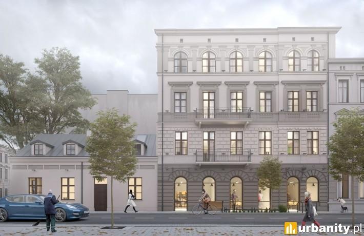 Rewitalizacja kamienicy przy ulicy Pomorskiej 11 w Łodzi