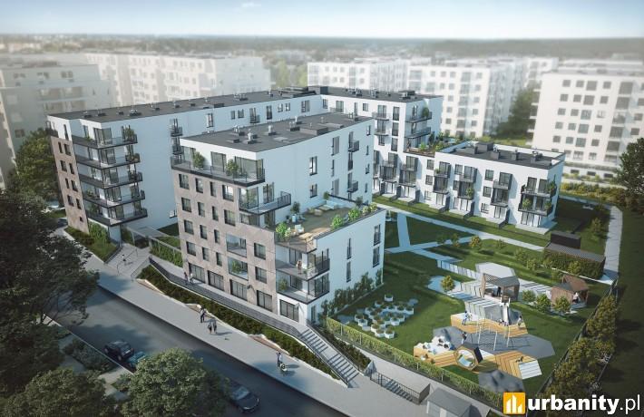 Wizualizacja projektu Saperska 30 w Poznaniu