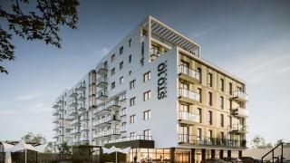 Projekt budynku przy ulicy Chylońskiej w Gdyni