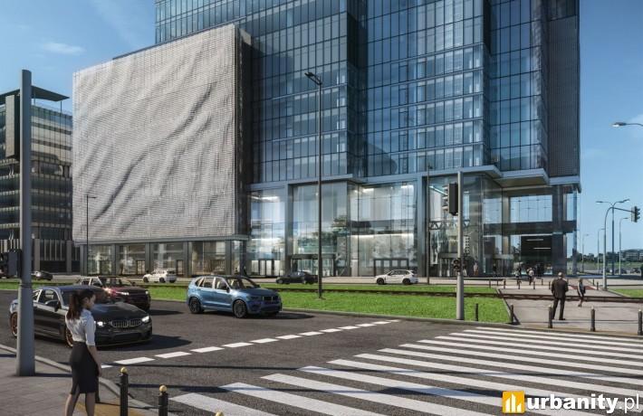 Projekt wieżowca Warsaw Unit