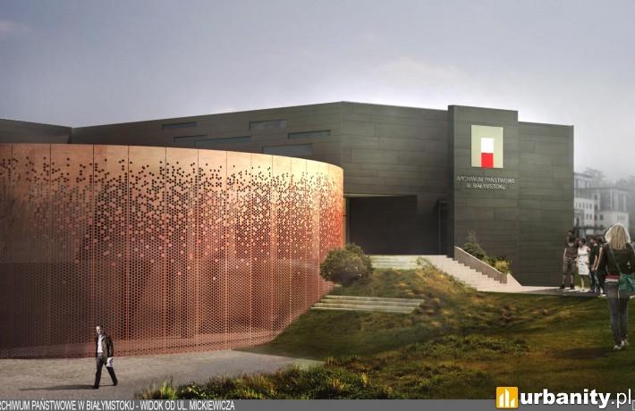 Projekt nowej siedziby Archiwum Państwowego