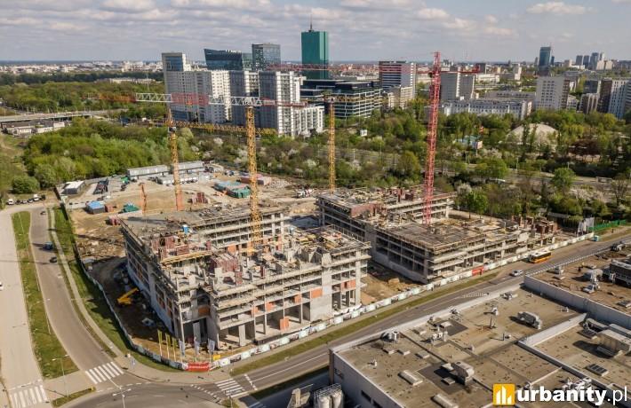 Central Garden - budowa maj 2020 r.