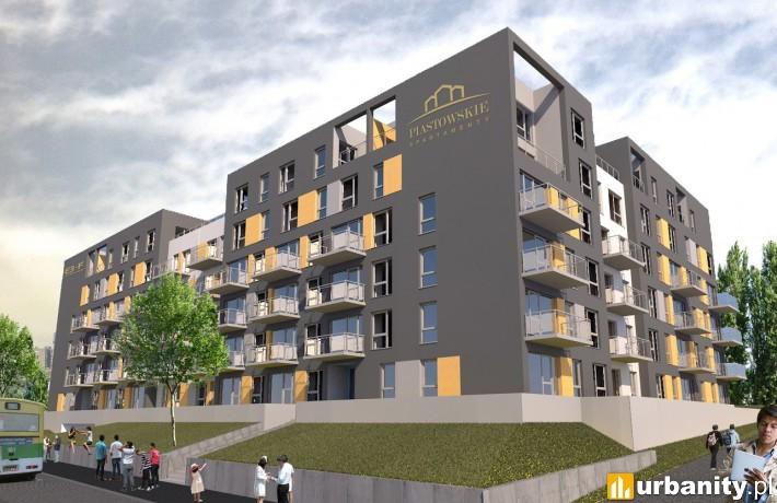 Wizualizacja inwestycji Piastowskie Apartamenty