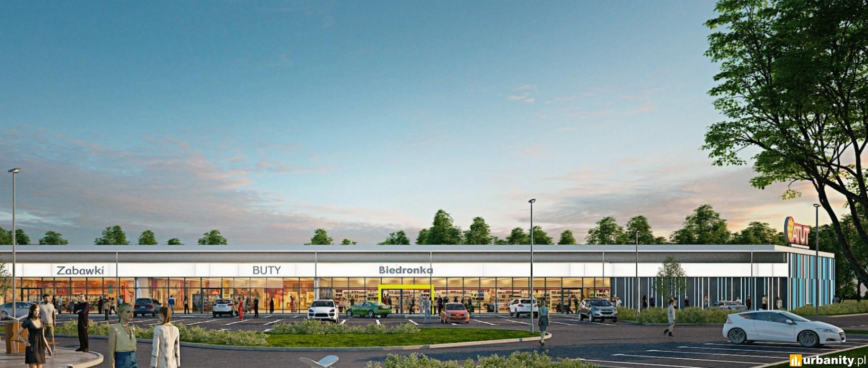 W Wieliczce powstaje Retail Park przy restauracji McDonald's