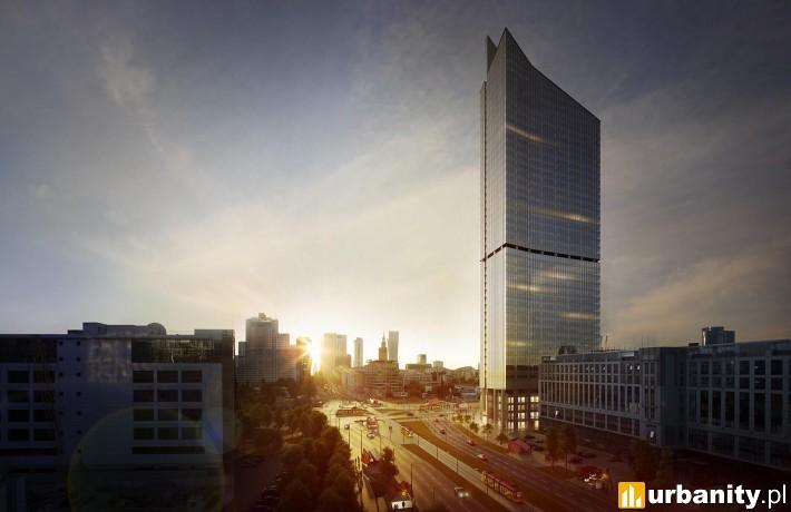 Projekt wieżowca Skyliner w Warszawie