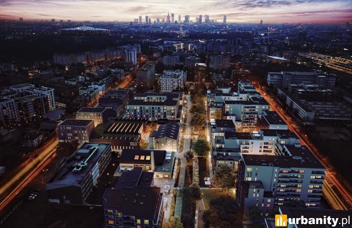 Soho 18 w Warszawie - wizualizacja