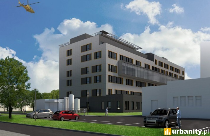 Nowe skrzydło szpitala w Bydgoszczy