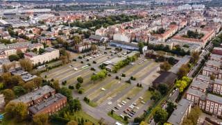 Działka przy ulicy Matejki w Poznaniu