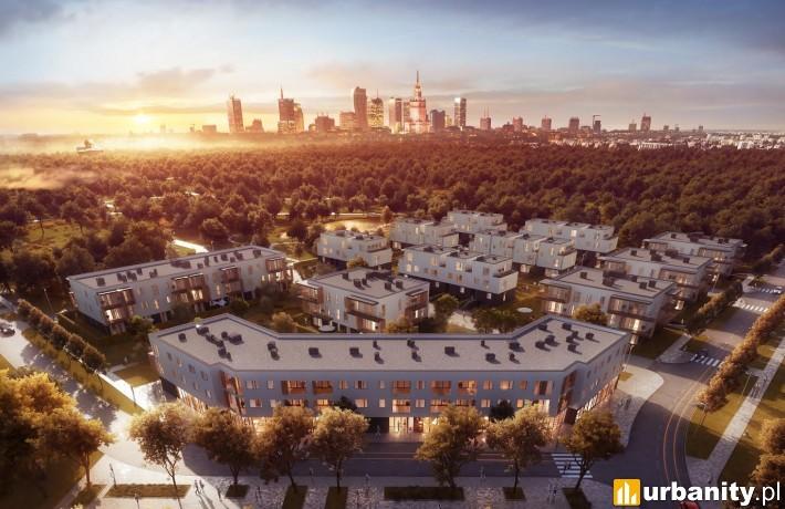 Projekt osiedla Nova Królikarnia na Mokotowie