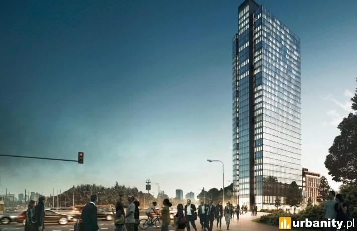 Projekt 120-metrowego wieżowca na Woli