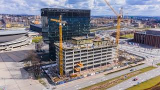 Postęp prac na budowie .KTW II - kwiecień 2020 r. (fot. TDJ Estate)