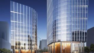 Zaawansowane prace na budowie wieżowca Mennica Legacy Tower