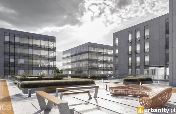 Projekt kompleksu Szczecin Business Plaza