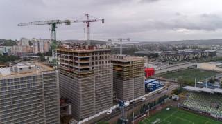 3T Office Park - wiecha na budowie, sierpień 2020 r