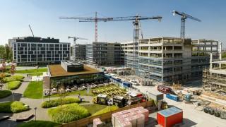 Powstający kompleks Business Garden Wrocław