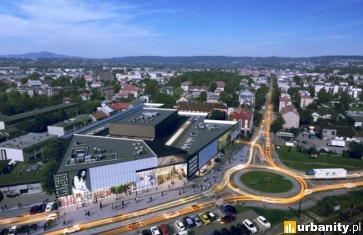 Wizualizacja centrum handlowego ShopIn w Jaśle