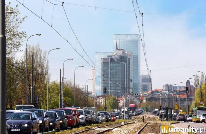 Projekt inwestycji Silver w Poznaniu