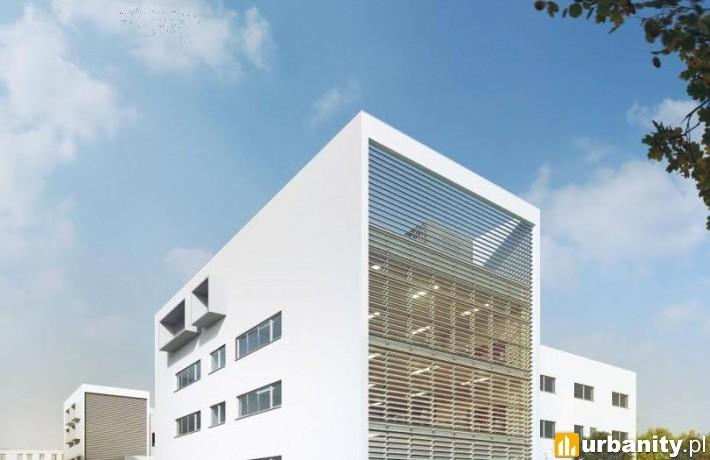 Wizualizacja rozbudowy i przebudowy istniejącego budynku