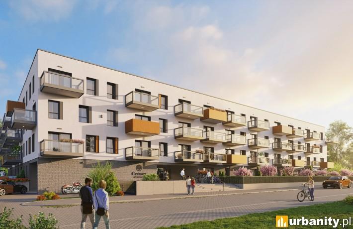Projekt inwestycji Cerisier Residence w Poznaniu
