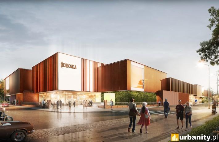 Galeria Dekada w Nysie - projekt