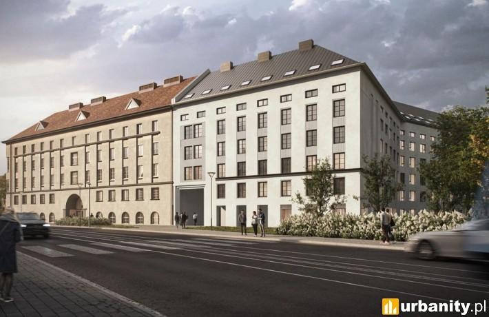 Projekt kompleksu Den Living w Krakowie