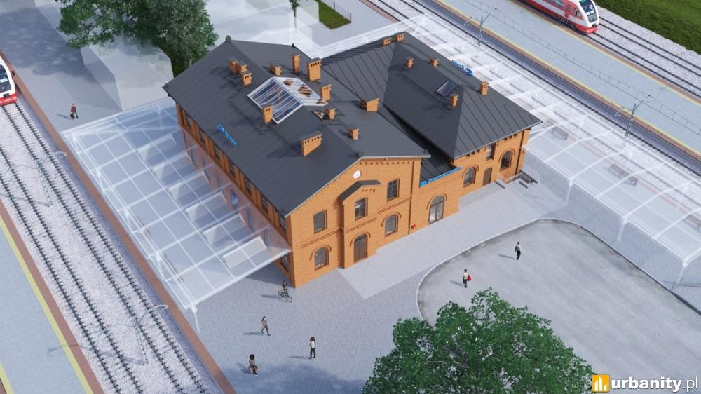 Jest przetarg na nowy dworzec w Rzepinie. Wróci ceglana elewacja