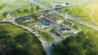 Projekt parku handlowego Quick Park w Sulechowie