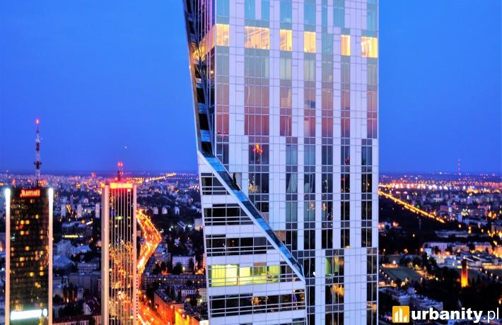 Gotowy wieżowiec Złota 44 w Warszawie