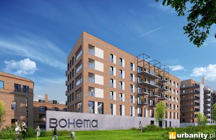 II etap części mieszkaniowej Bohemy - wizualizacja