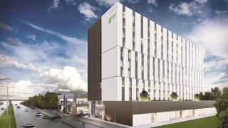 Holiday Inn Express i Staybridge Suites przy alei Grunwaldzkiej