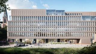 Projekt biurowca Moderna w centrum Katowic