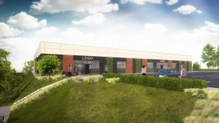 Projekt nowego pawilonu handlowego w Sosnowcu