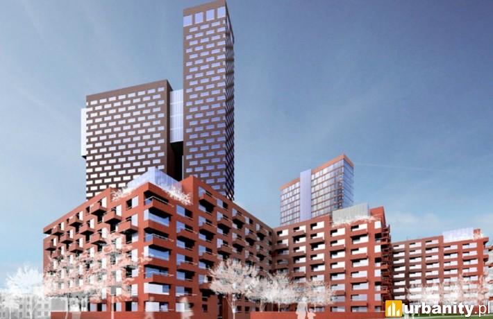 Pierwotna wizja zabudowy placu Słonecznego w Katowicach