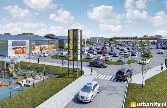 Centrum handlowe Stalchemia w Siedlcach - wizualizacja
