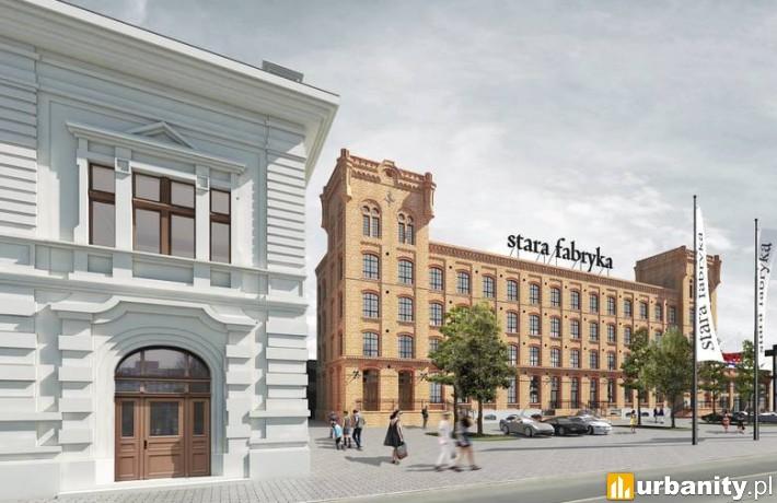 Stara Fabryka - projekt