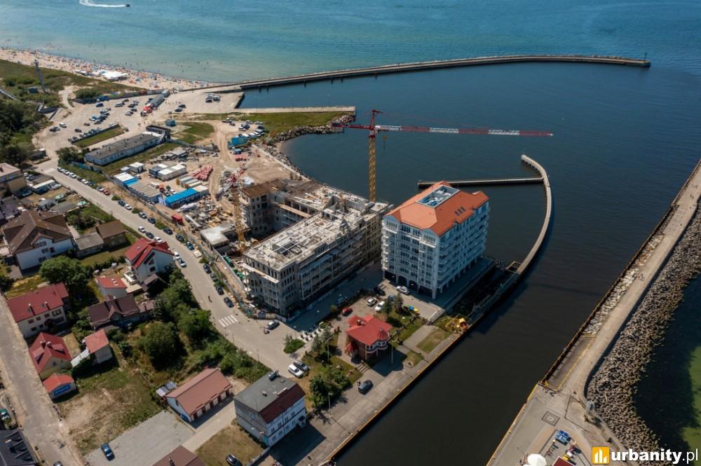 Drugi apartamentowiec inwestycji Marina Royale w Darłówku z docelową wysokością
