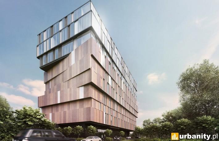 9-piętrowy budynek firmy Duda Development w Zielonej Górze