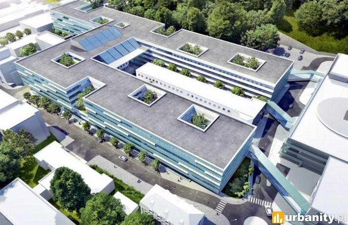 Wizualizacja gdańskiego Centrum Medycyny Nieinwazyjnej