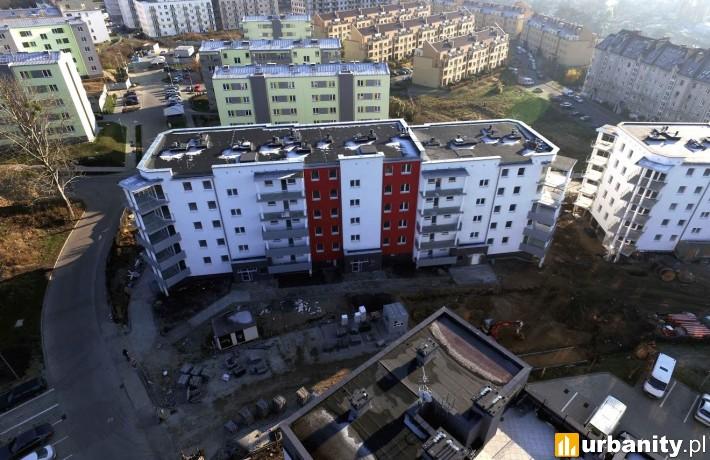 Kusocińskiego w Szczecinie - gotowy I etap