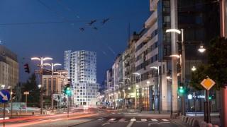 Widok na kompleks Portova w Gdyni