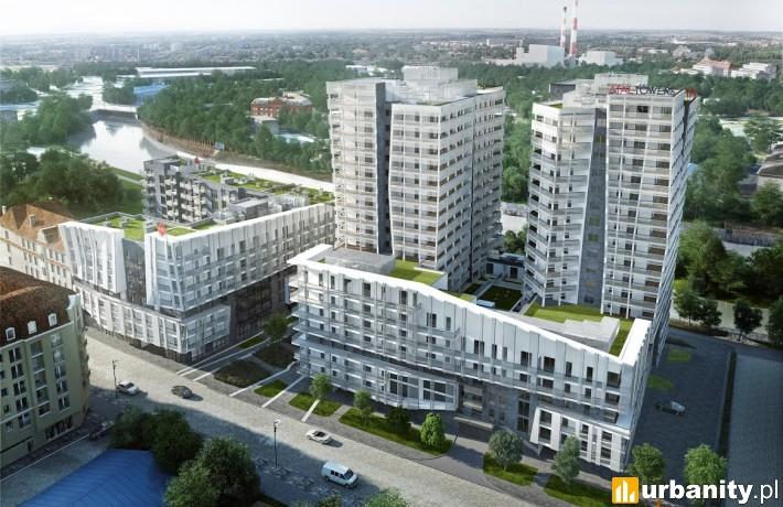 Wizualizacja inwestycji Atal Towers we Wrocławiu