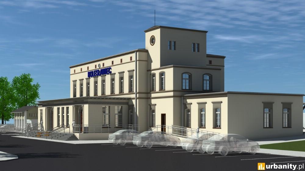 Bolesławiec kolejnym miastem z wyremontowanym dworcem