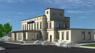 Nowy dworzec PKP w Bolesławcu - wizualizacja