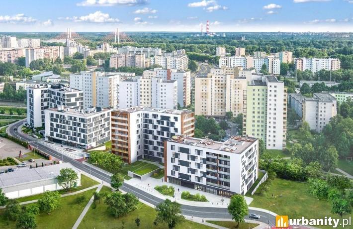 Projekt warszawskiego osiedla spółki Unidevelopment