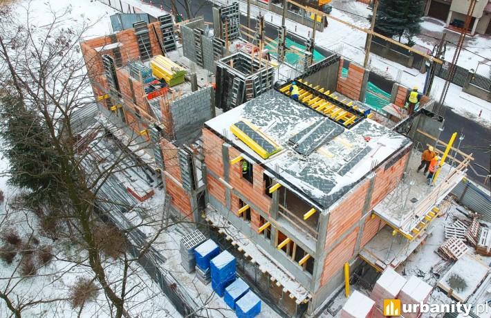 Postęp prac na budowie krakowskiego projektu firmy Sawa Apartments