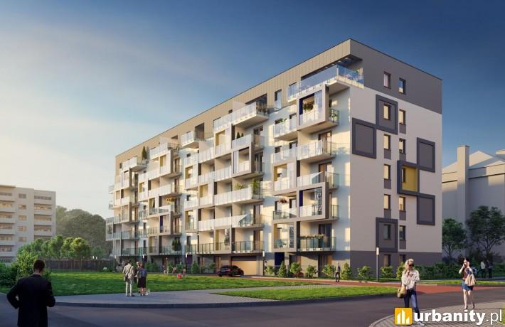 Projekt budynku Epique w Warszawie